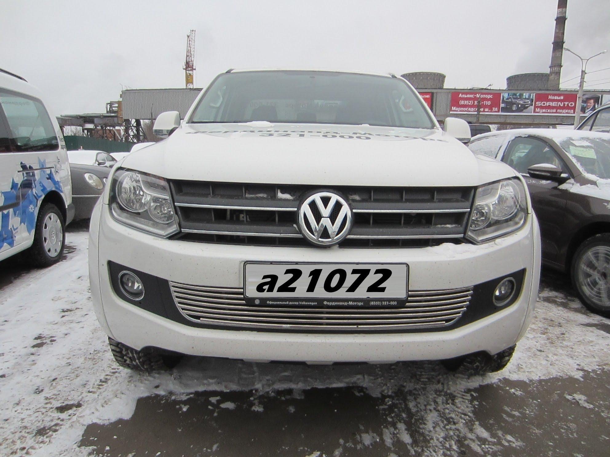 Тест-драйв Volkswagen Amarok - Антон Воротников