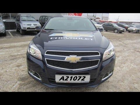 Тест-драйв Chevrolet Malibu - Anton Avtoman