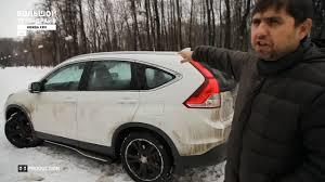 Большой тест-драйв: Honda C-RV