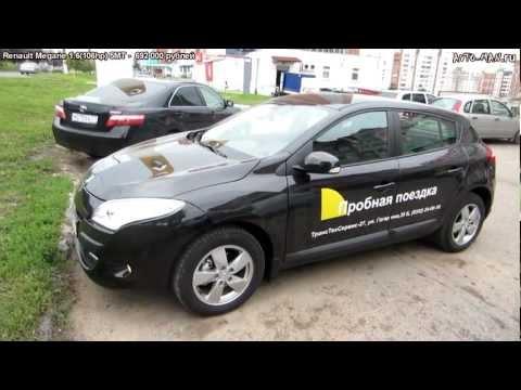 Тест-драйв Renault Megane - Anton Avtoman