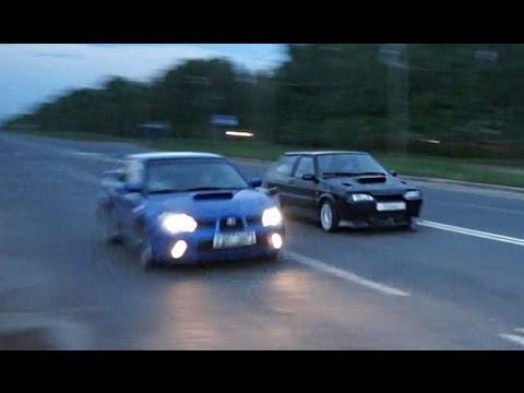 Ваз 2113 против Subaru WRX