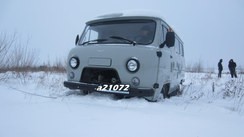 Тест-драйв УАЗ 2206( Буханка) Anton Avtoman