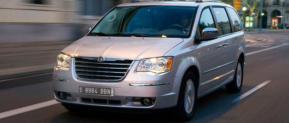 Большой тест-драйв Chrysler Grand Voyager