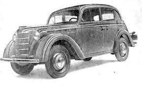 Москвич ЗМА 1948 года выпуска.