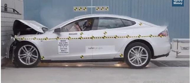 Краш тест Tesla Model S