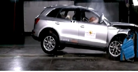 audi q5crash test