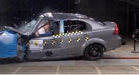 aveo crash test