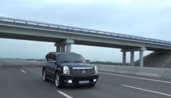 Тест драйв Cadillac Escalade от Жорика Ревазова