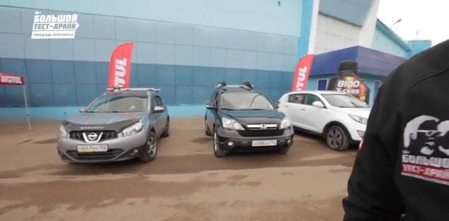 Nissan Qashqai+2 vs. Honda CR-V vs. Kia Sportage