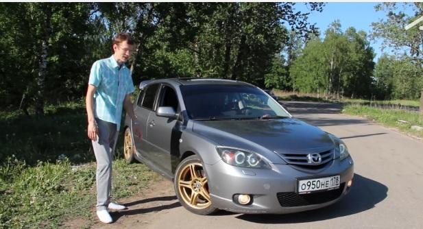 Тест драйв Mazda 3 от AcademeG