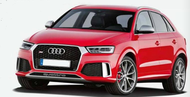 Audi Q3 старт продаж в марте 2015