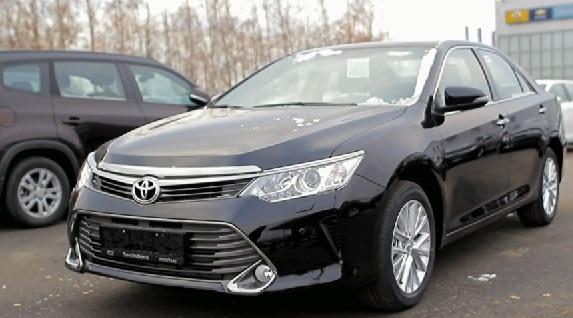 Тест драйв Toyota Camry 2015 от Антона Воротникова