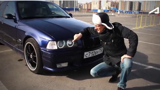 Тест драйв BMW 325 E36 от Академика