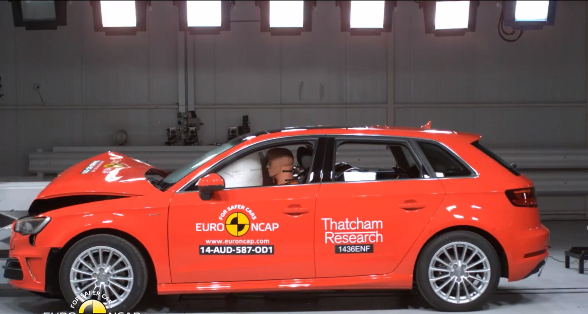 Crash Test of Audi A3 Sportback