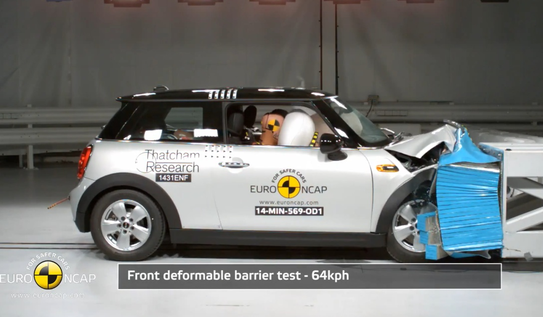 Crash Test of MINI Cooper