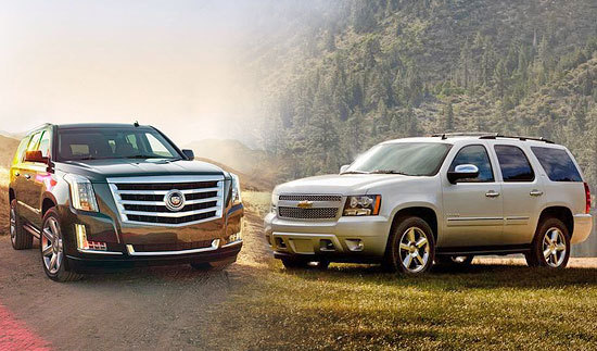 Escalade and Tahoe