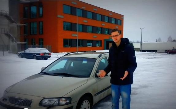 Test Drive Volvo V70