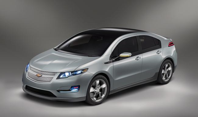 Обновленный Chevrolet Volt