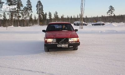 Большой тест драйв Volvo 940