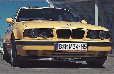 BMW M5 E34-atd