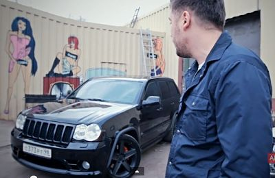 Jeep Grand Cherokee SRT-8-avtoman