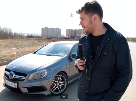 Mercedes-Benz A45 AMG-avtoman