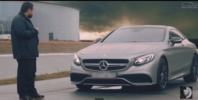 Mercedes S-coupe 63 AMG