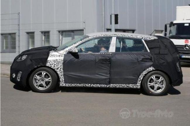 Kia тестирует универсал Ceed Sportsvan