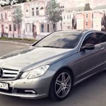 Mercedes Benz E-class coupe_opt
