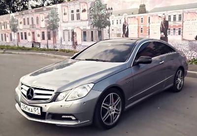 Mercedes Benz E-class coupe_opt