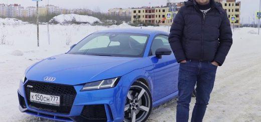 Тест драйв AUDI TT RS - Антон Воротников