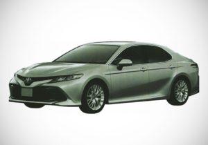 Новая Toyota Camry 2018 в России
