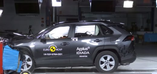 Crash Test of Toyota RAV4 2019